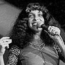 Baby hippie gloriosa, durante a apresentação no final do FIC, no Maracanãzinho (RJ)